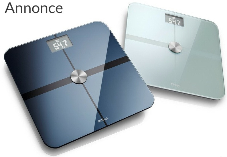 Få styr på vægten med Withings wifi badevægt
